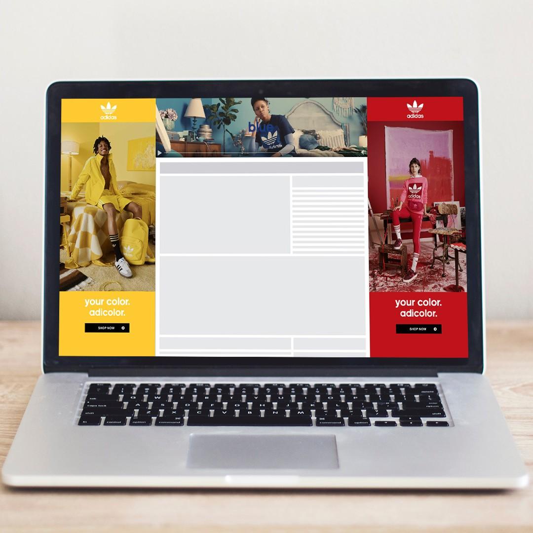 Adidas, Adicolor, Activwear, Desktop Ad